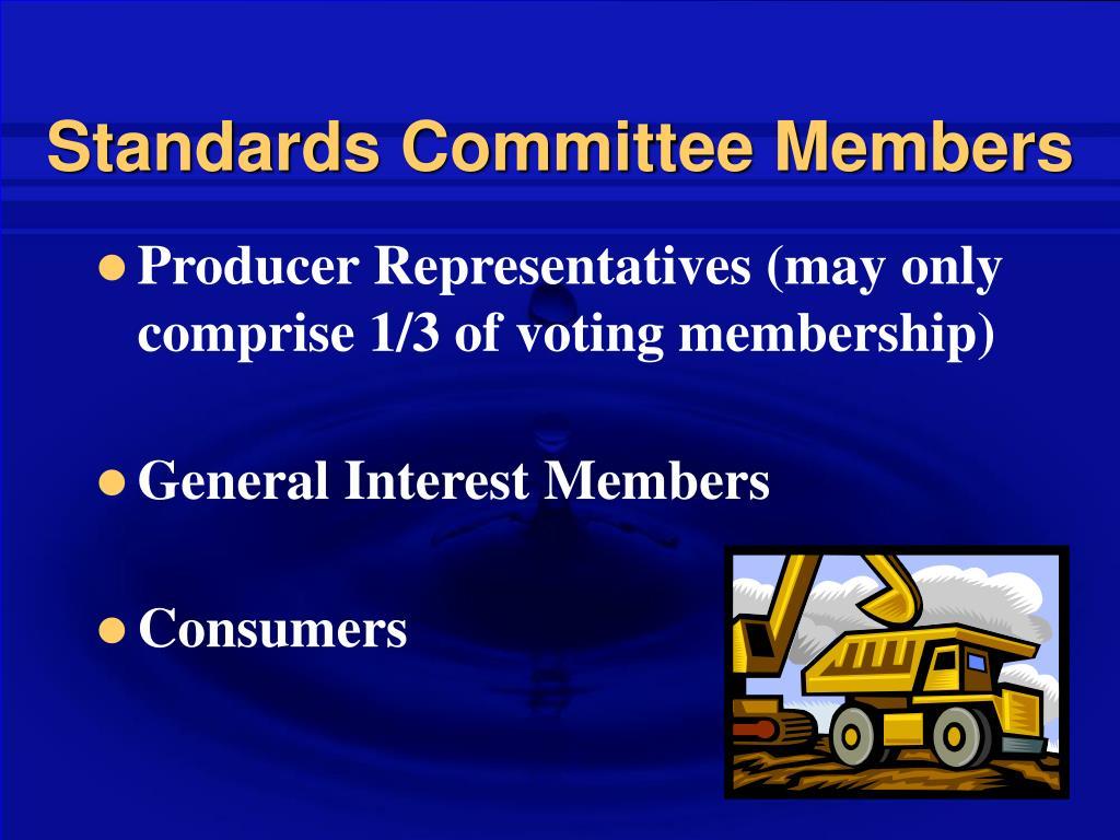 Standards Committee Members