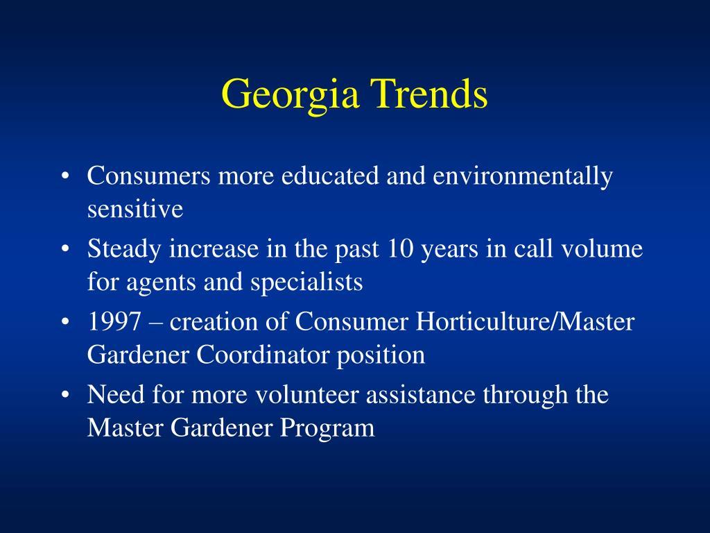 Georgia Trends