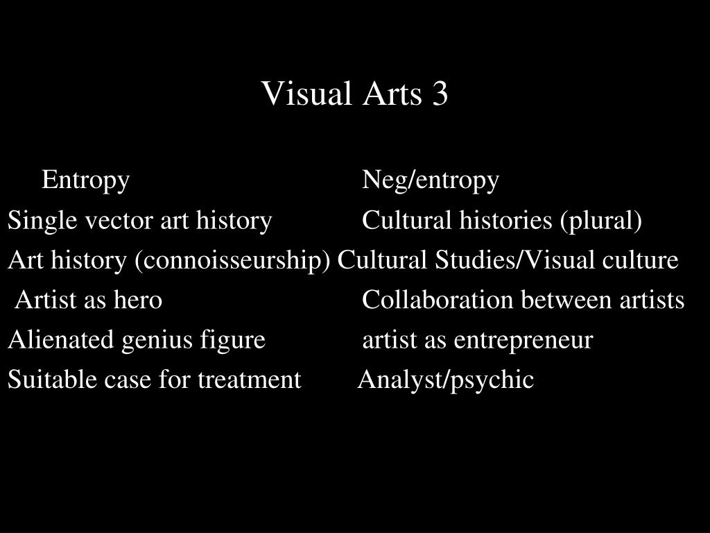 Visual Arts 3