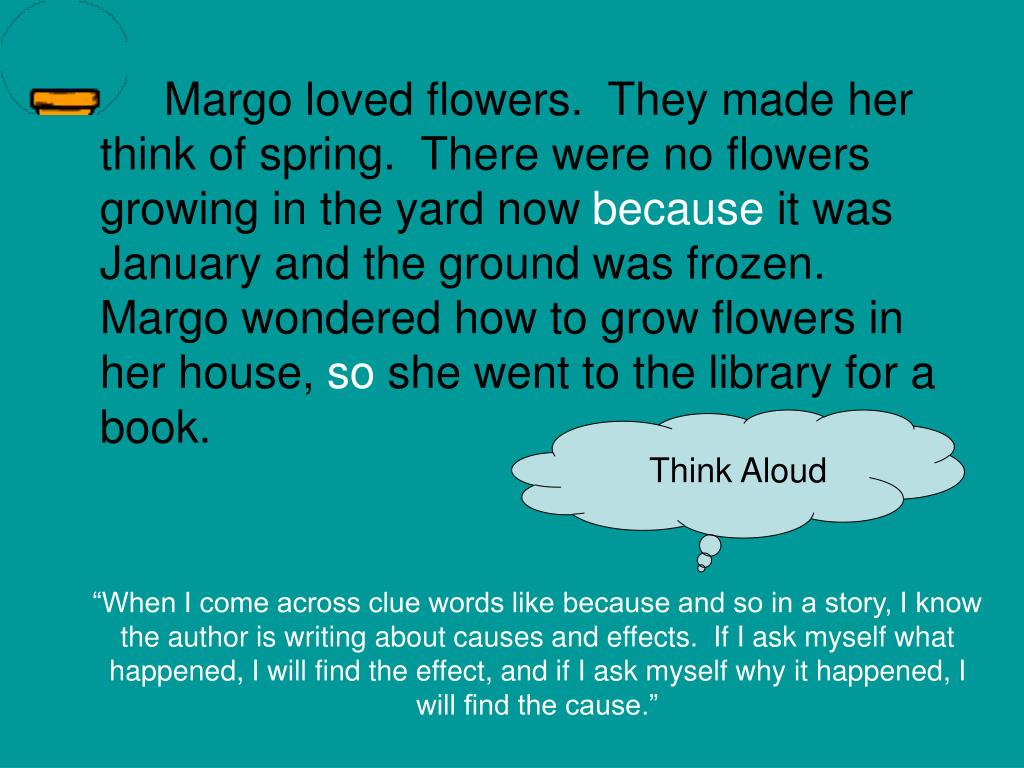 Margo loved flowers.  They made her think of spring.  There were no flowers growing in the yard now