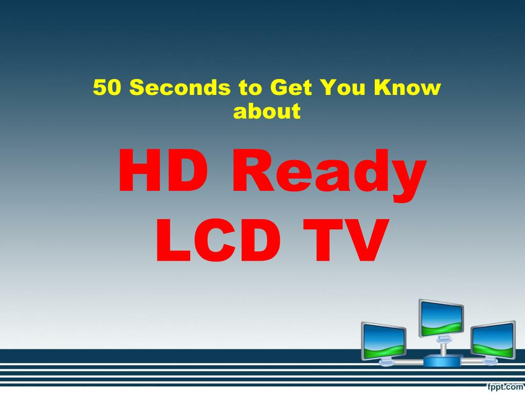 HD Ready LCD TV