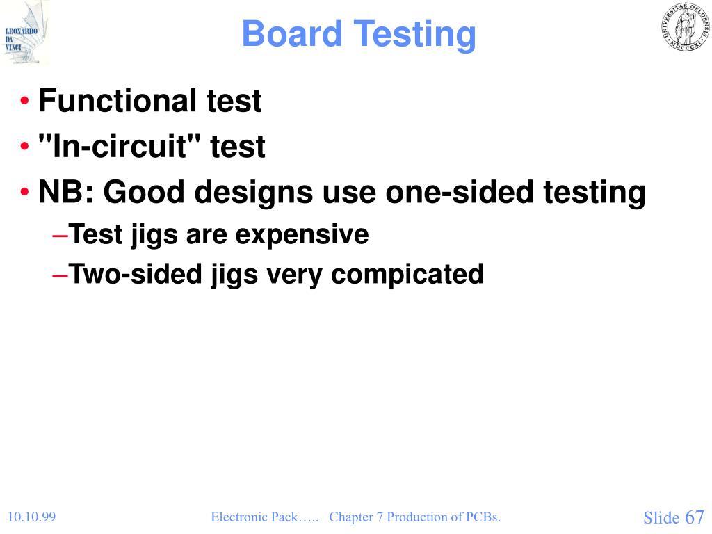 Board Testing