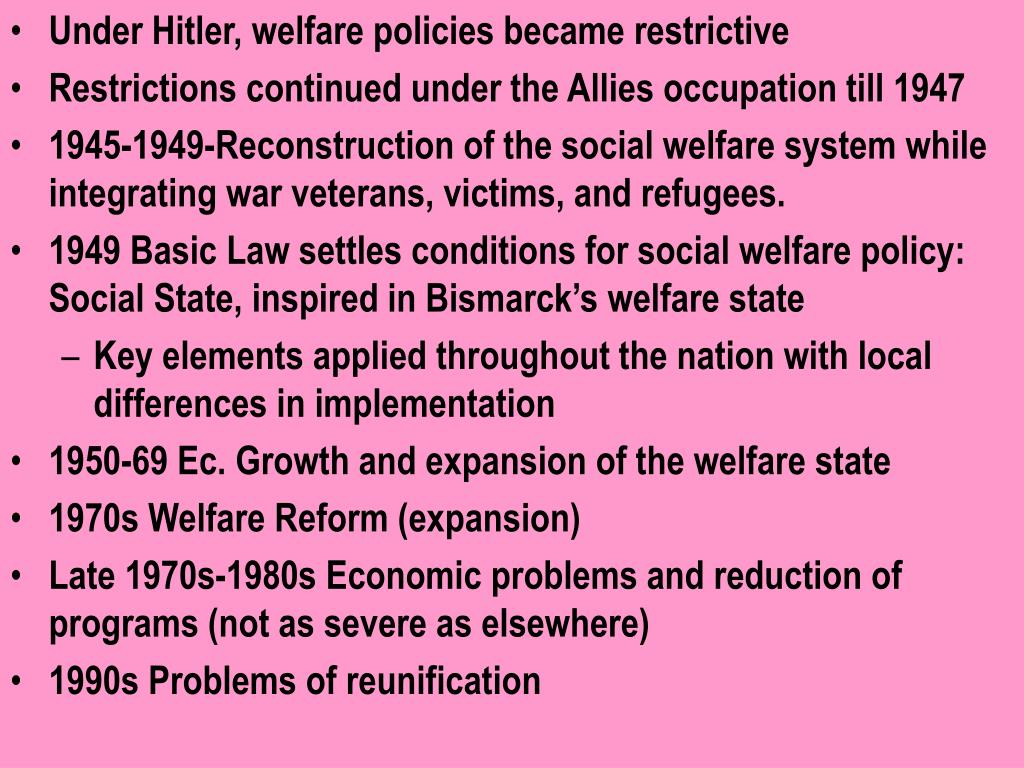 market economy in social welfare And it was the social market economy ludwig  welfare state today, germany's economy is ill  for the institute of economic affairs as well as.