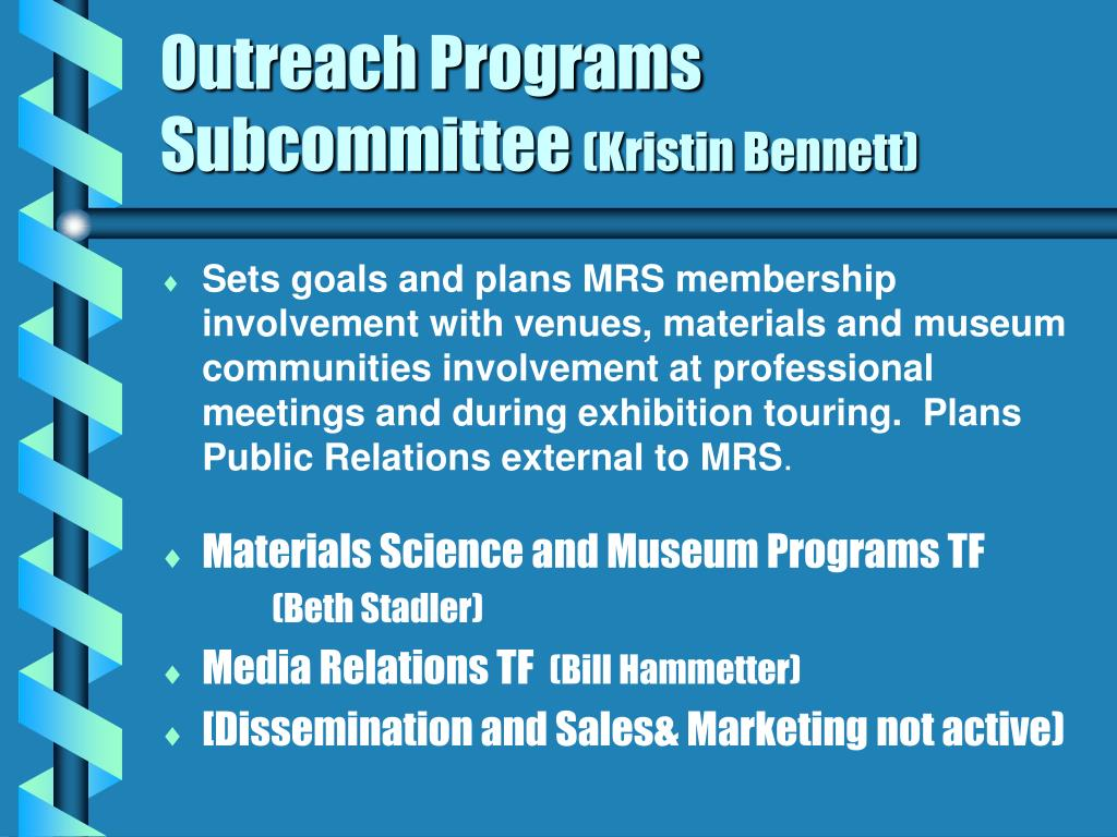Outreach Programs Subcommittee