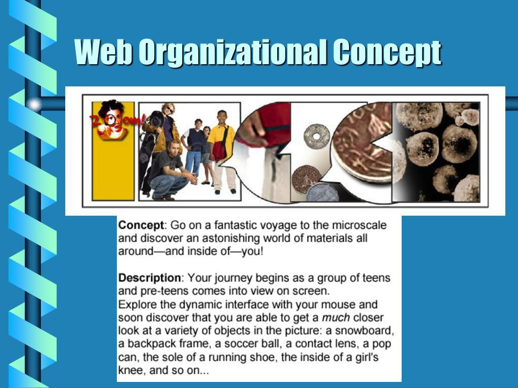 Web Organizational Concept