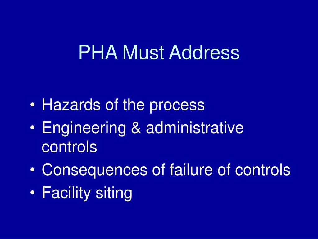 PPT Process Safety Management of Highly Hazardous