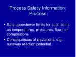 process safety information process19