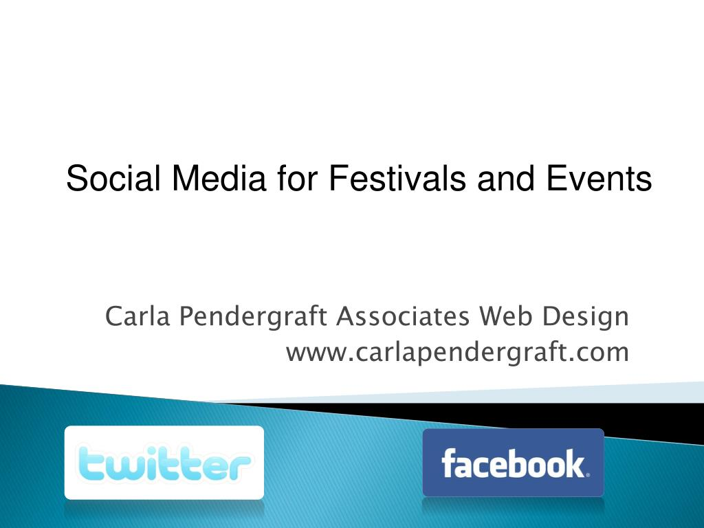 Social Media for Festivals and Events