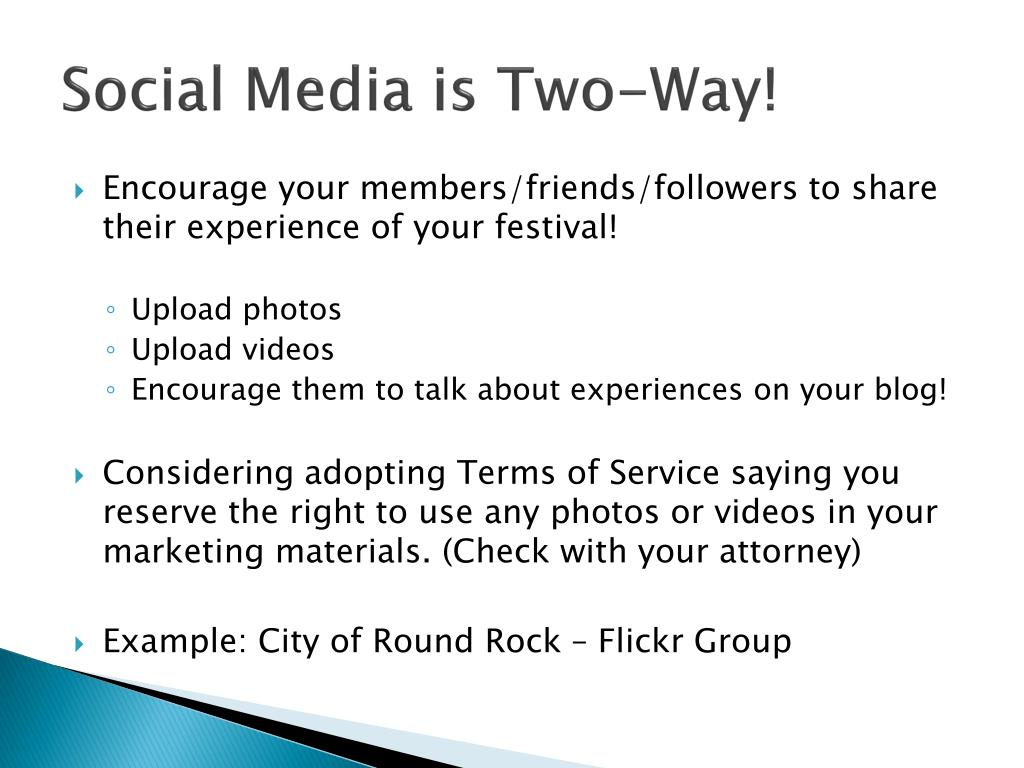 Social Media is Two-Way!