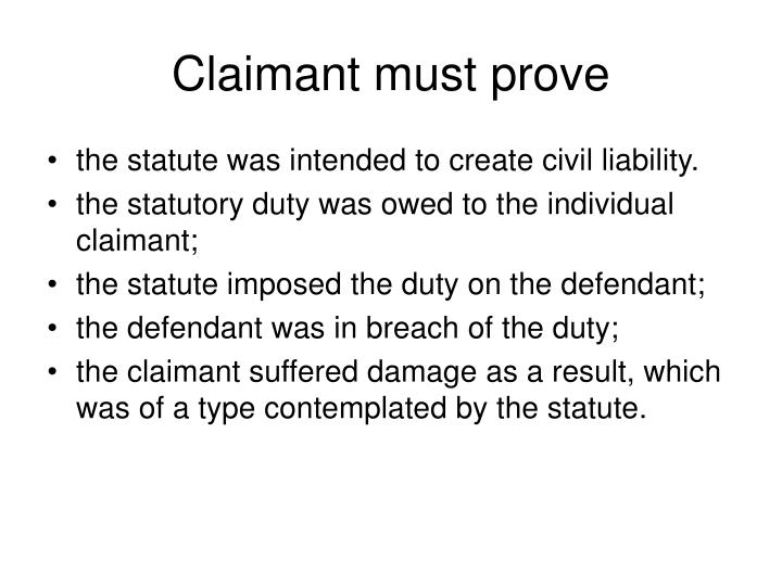 Claimant must prove l.jpg
