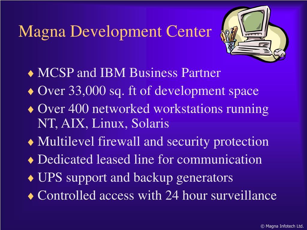 MCSP and IBM Business Partner