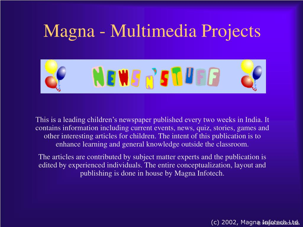Magna - Multimedia Projects