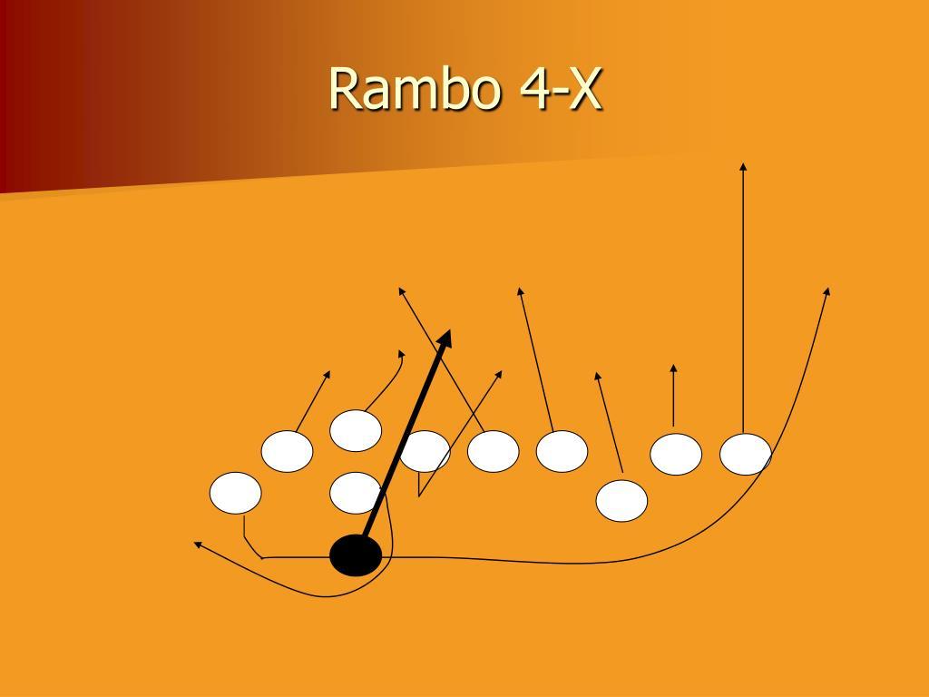 Rambo 4-X
