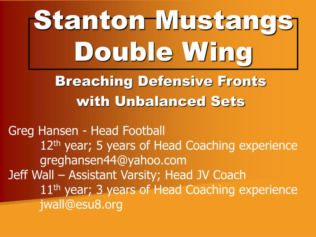 Stanton Mustangs