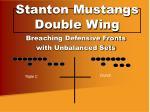 stanton mustangs double wing9