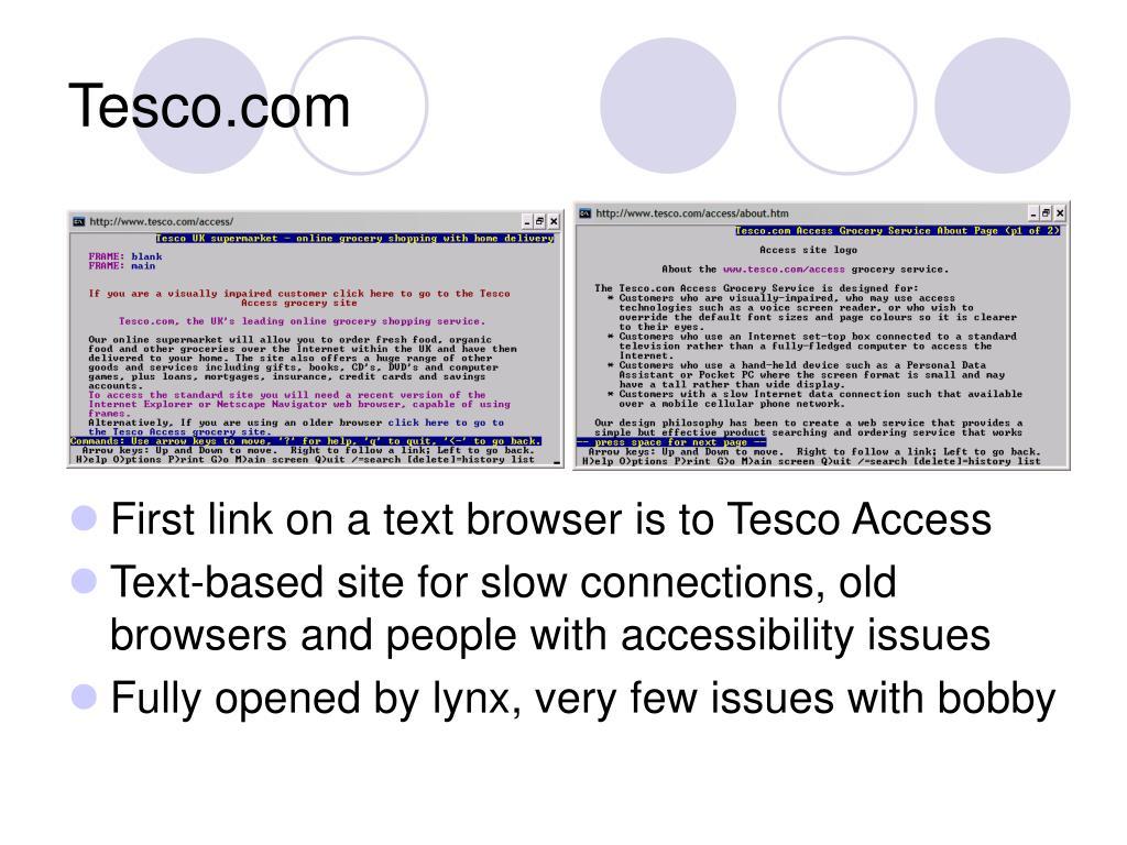 Tesco.com
