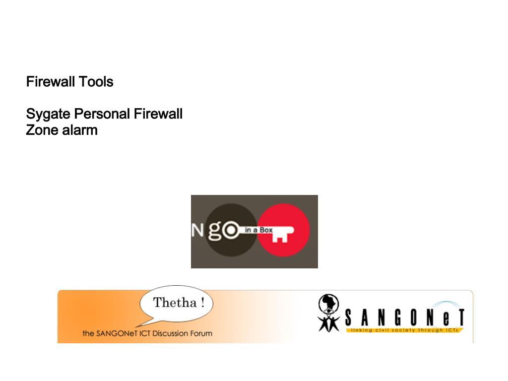 Firewall Tools