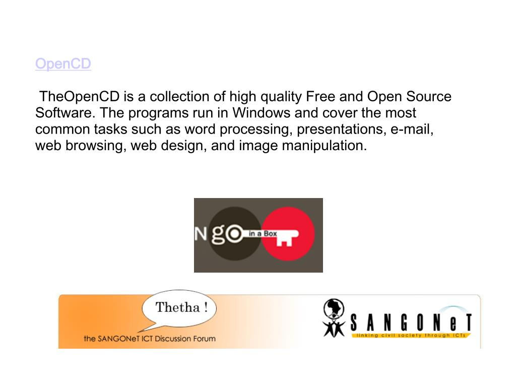 OpenCD