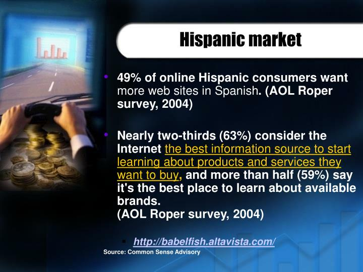 Hispanic market