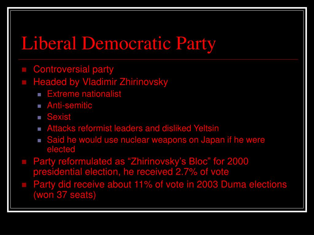 Liberal Democratic Party