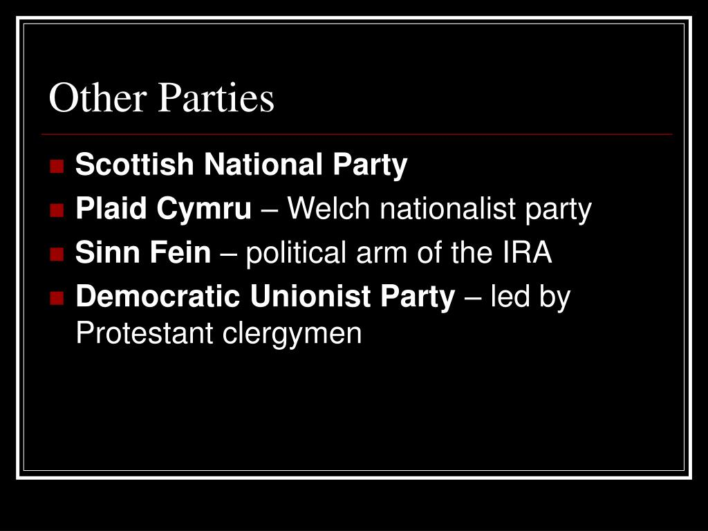 Other Parties