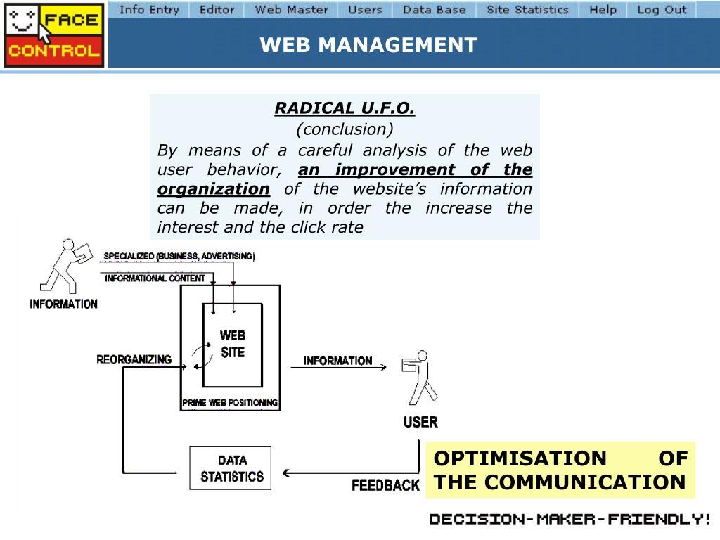 WEB MANAGEMENT