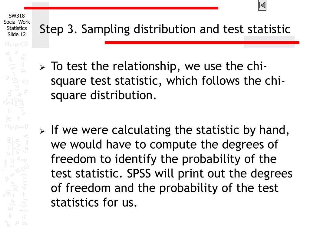 relationship between degrees of freedom and distribution calculator