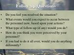 follow up questions38