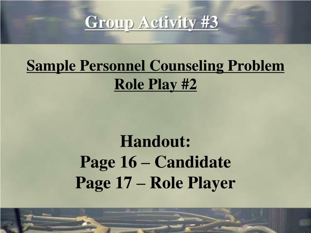 Group Activity #3