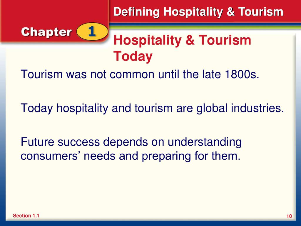 Hospitality & Tourism Today