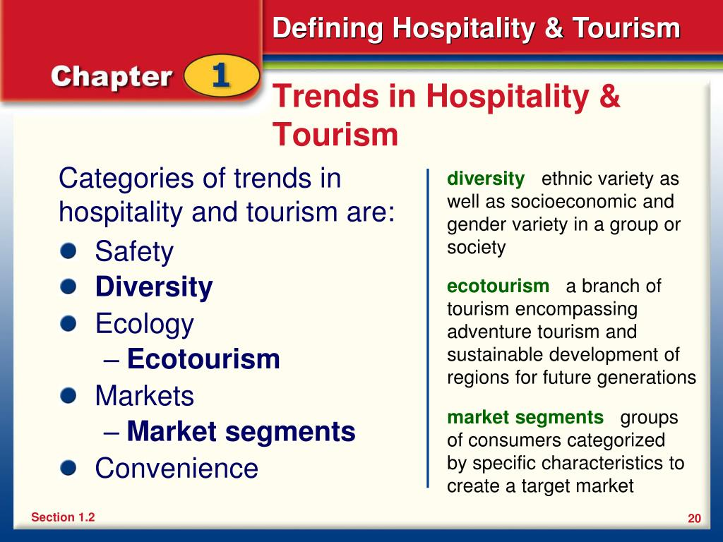 Trends in Hospitality & Tourism