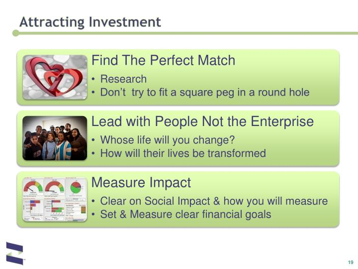 Attracting Investment