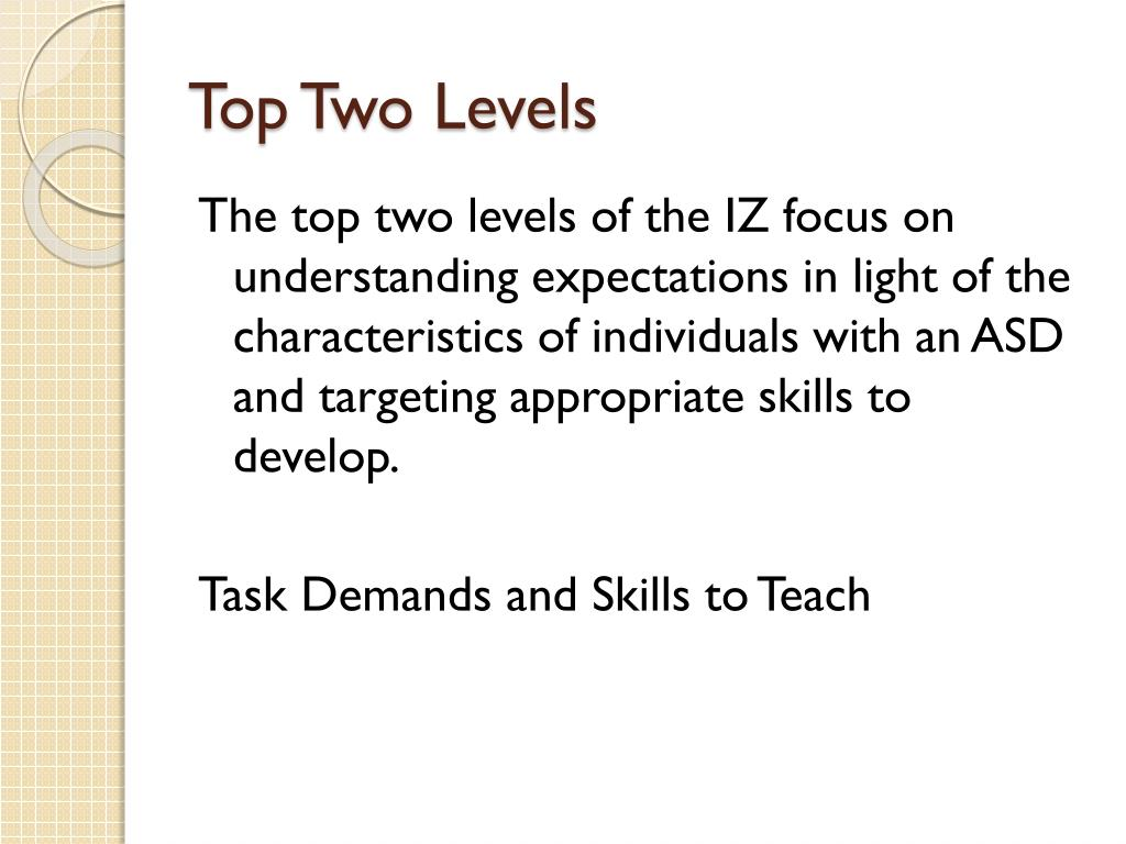 Top Two Levels
