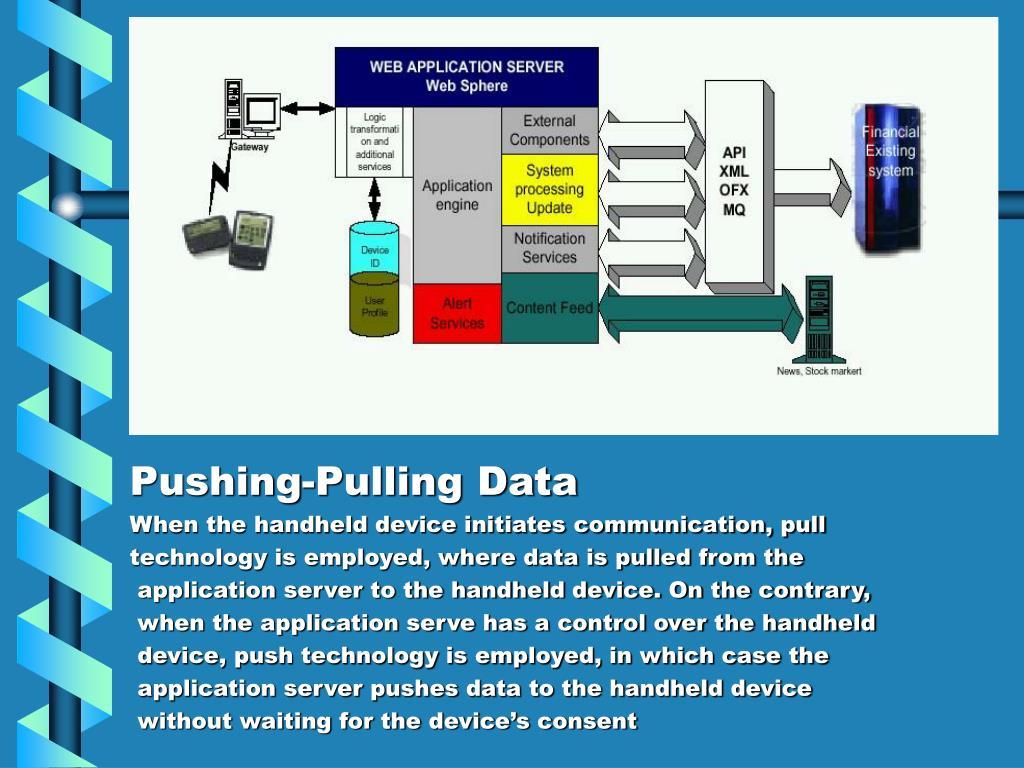 Pushing-Pulling Data
