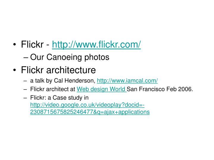 Flickr -