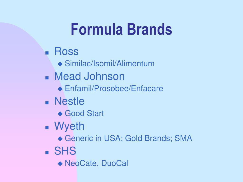 Formula Brands