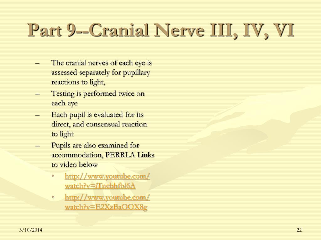 Part 9--Cranial Nerve III, IV, VI