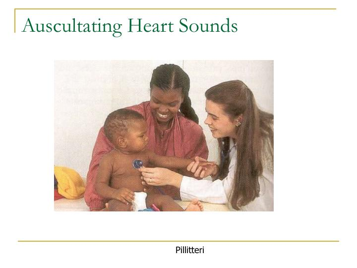 Auscultating Heart Sounds