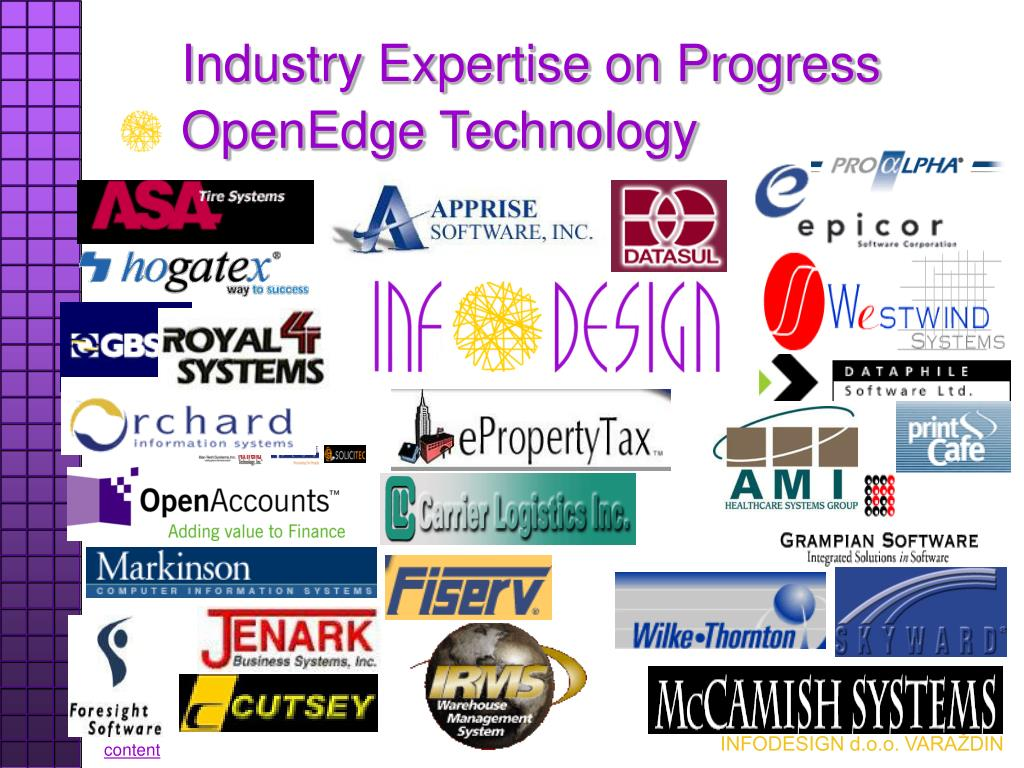 Industry Expertise on Progress OpenEdge Technology