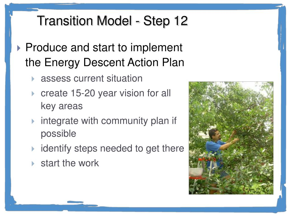 Transition Model - Step 12