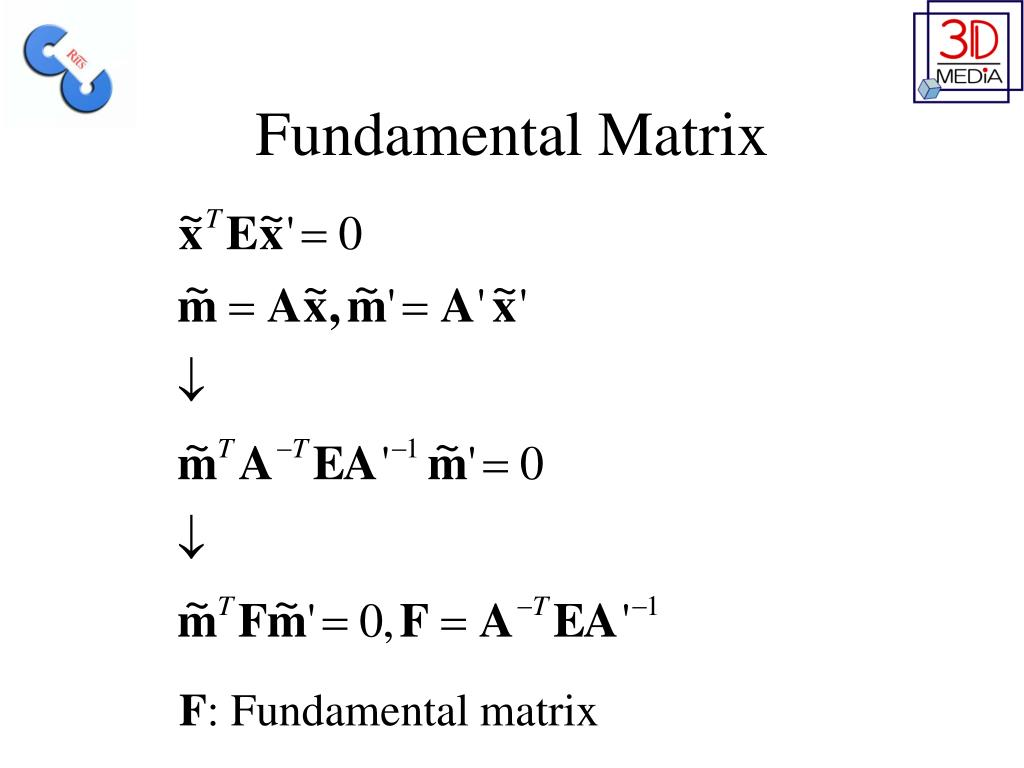 Fundamental Matrix