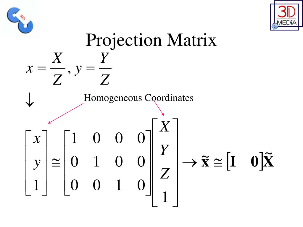 Projection Matrix