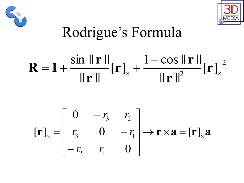 Rodrigue's Formula