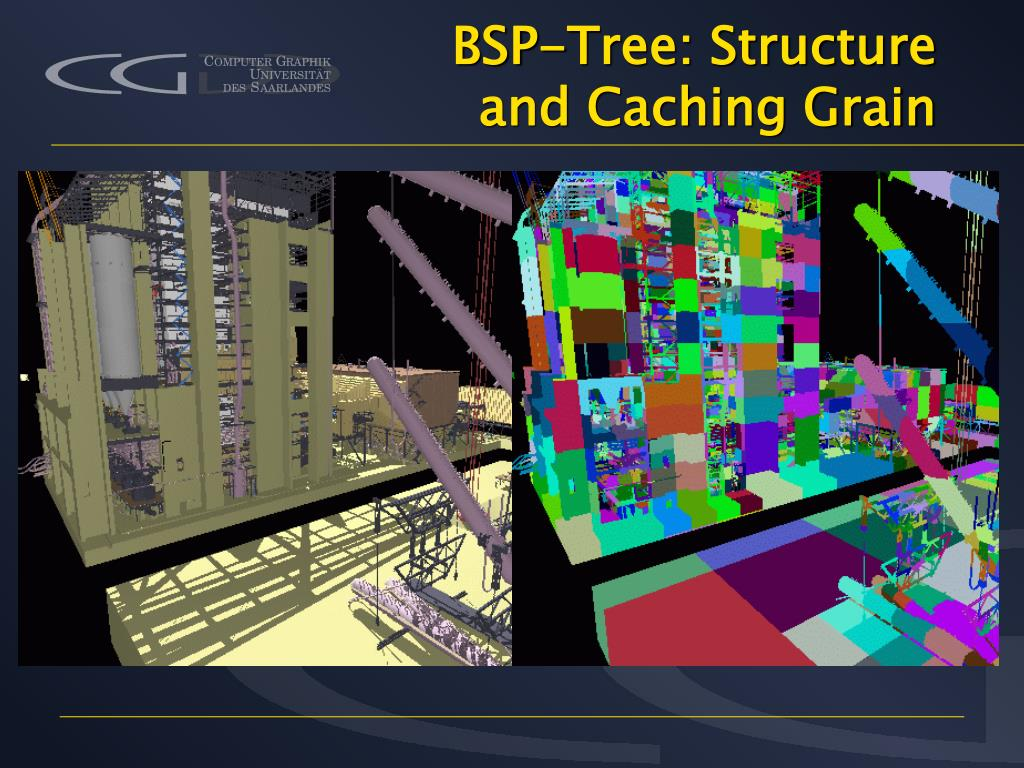 BSP-Tree: Structure and Caching Grain