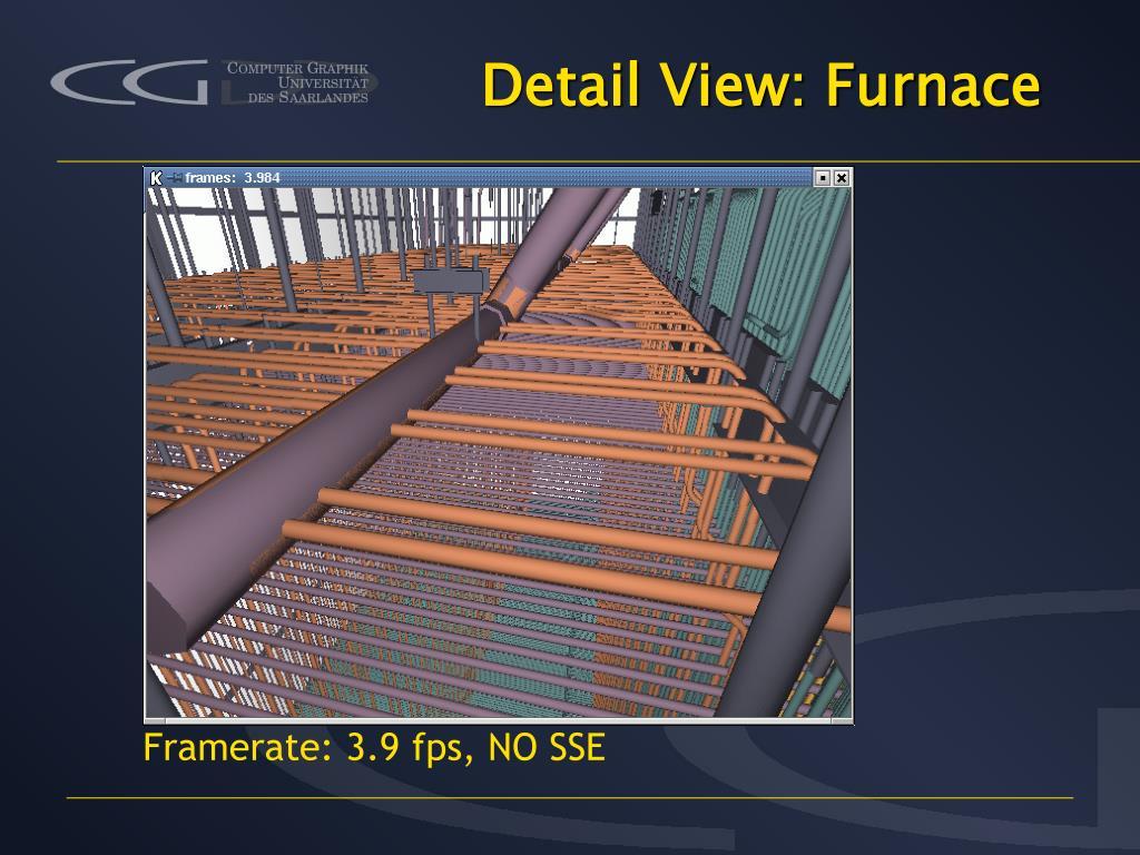 Detail View: Furnace