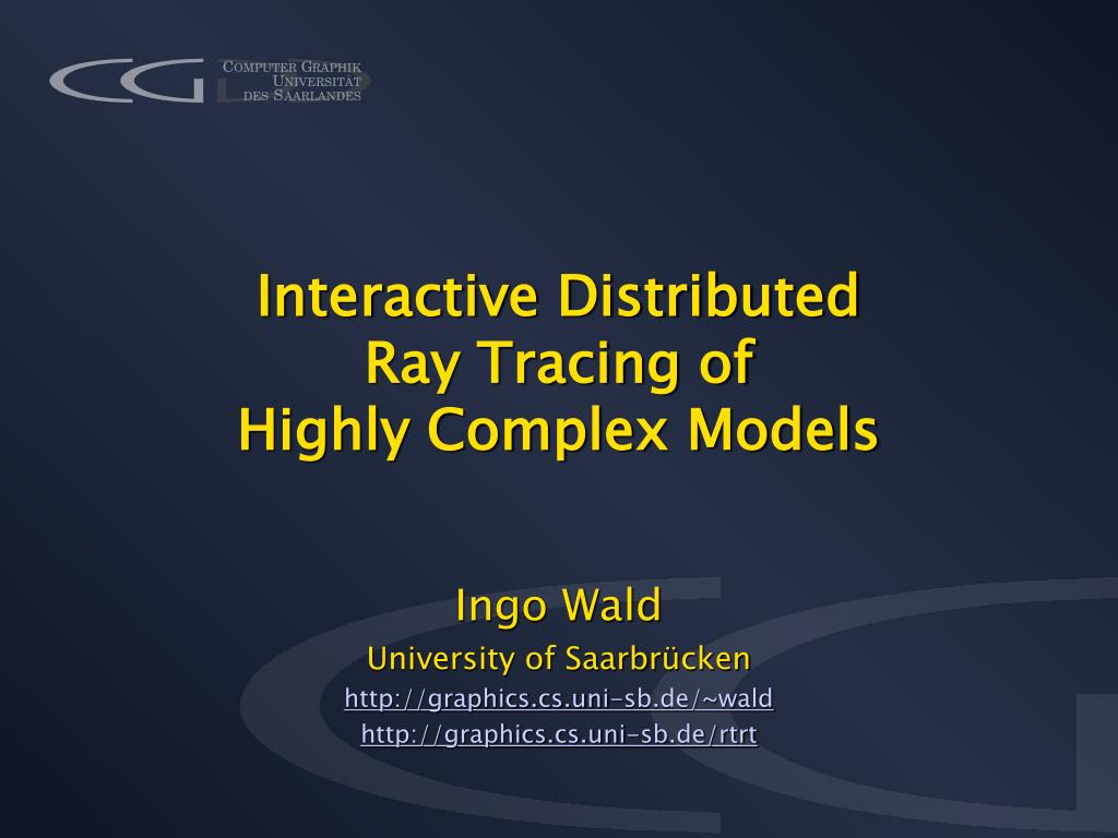 Interactive Distributed
