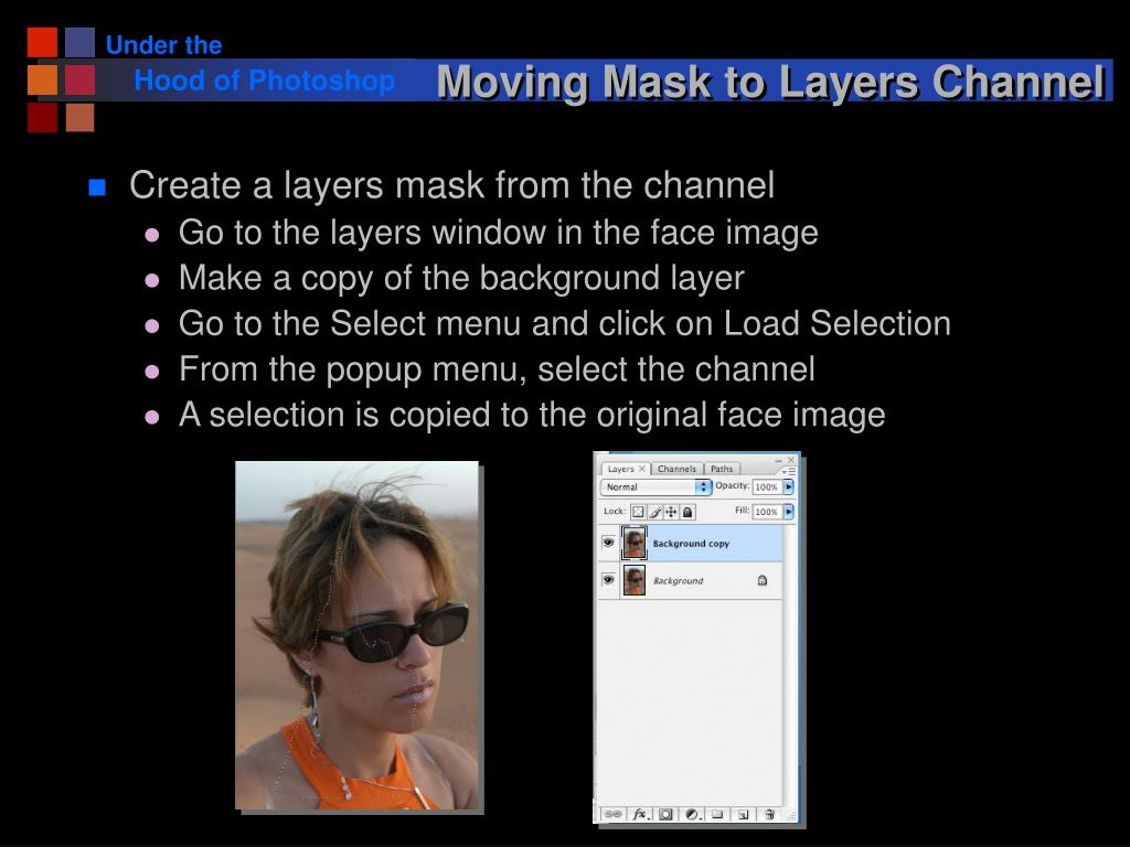 Moving Mask to Layers Channel