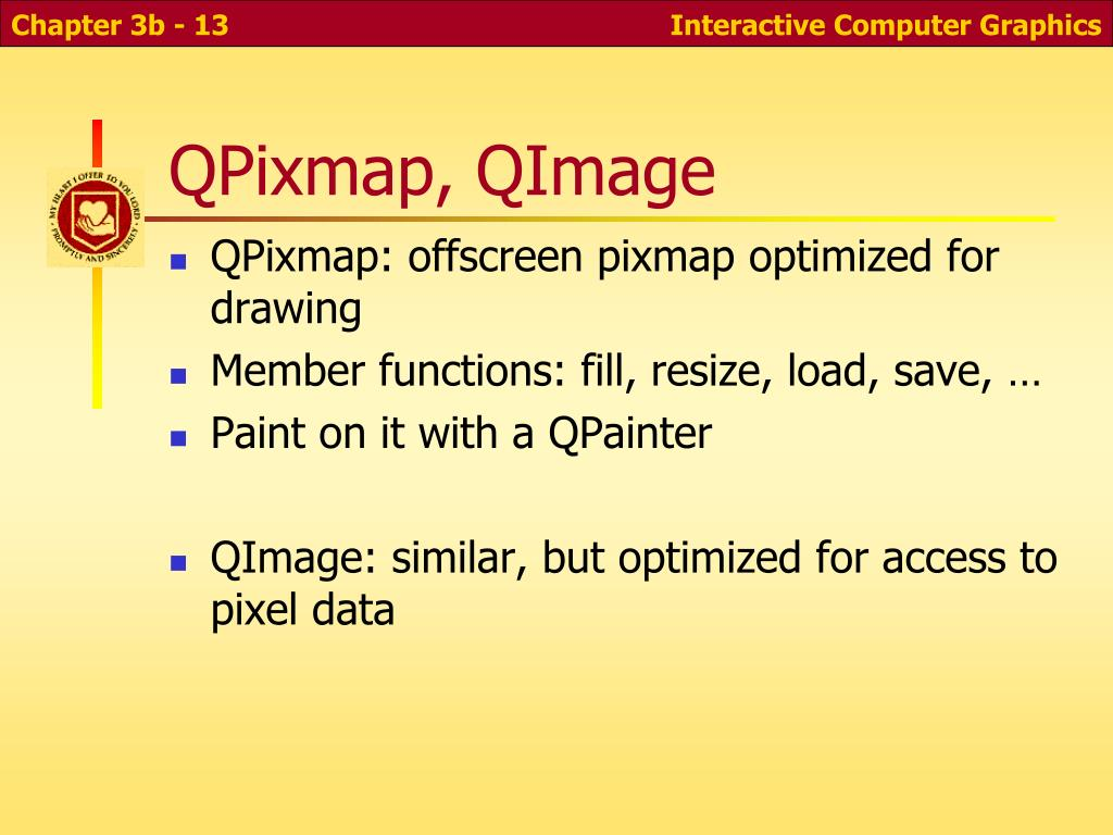 QPixmap, QImage