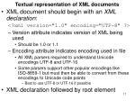 textual representation of xml documents17