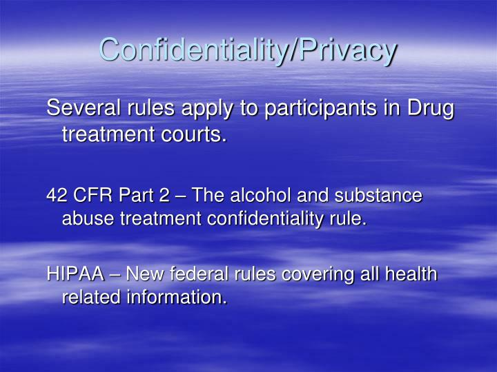 Confidentiality privacy l.jpg